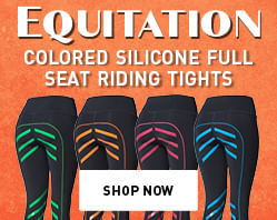 Equitation Colored Silicone Full Seat Riding Tights