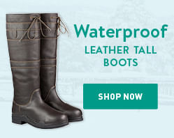 Waterproof Leather Tall Boots